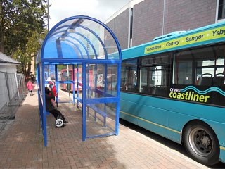 Bangor Bus Stops: Anti-Vandal Refurbishment
