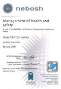 nebosh - Management of health and safety