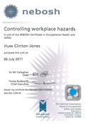 nebosh - Controlling work place hazards