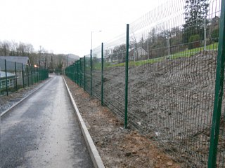 Dolgellau Recycling Centre: Security Fencing