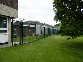 Qioptiq, St Asaph: Security Fencing