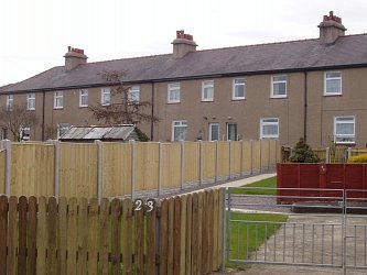 Domestic Panel Fencing